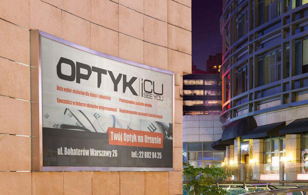 Billboard dla Salonu Optycznego
