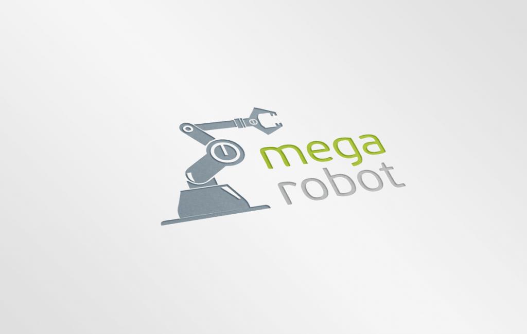 Propozycja logotypu dla firmy robotycznej