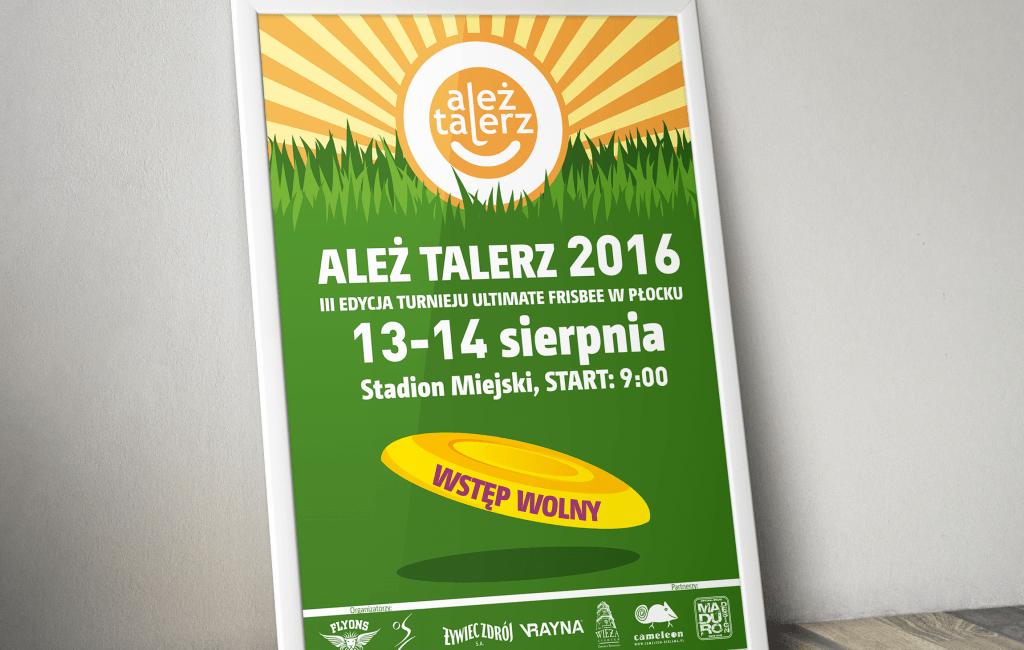 Plakaty dla turnieju ALEŻ TALERZ