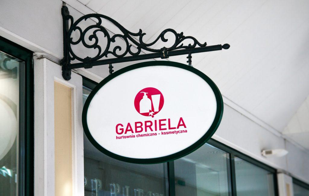 Materiały reklamowe dla hurtowni chemicznej – Gabriela