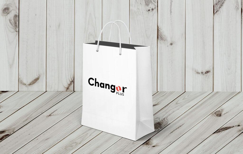 "Propozycja logotypu ""CHANGER"""