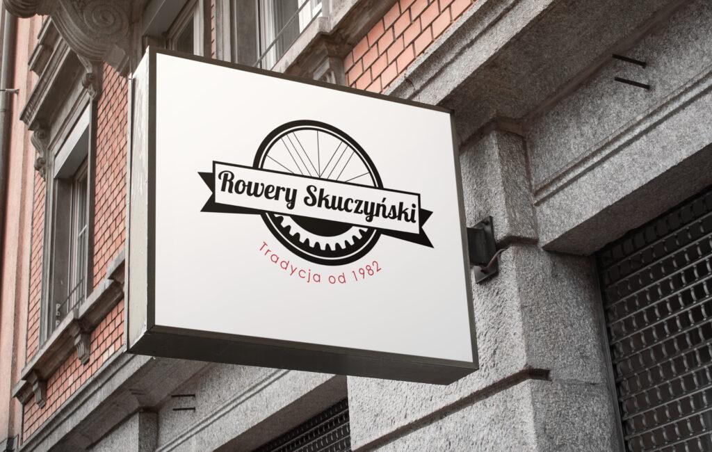 Logotyp sklepu rowerowego