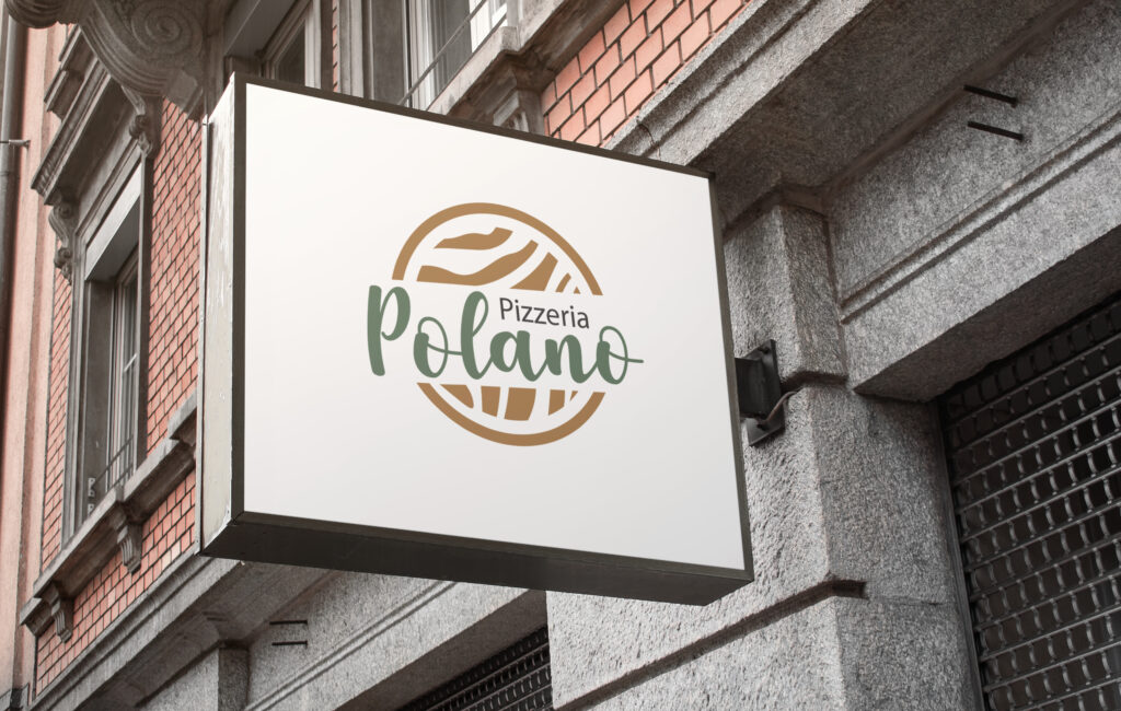 "Logotyp Pizzerii ""Polano"""