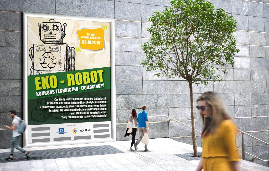 Plakaty konkursowe dla Przedsiębiorstwa Gospodarowania Odpadami