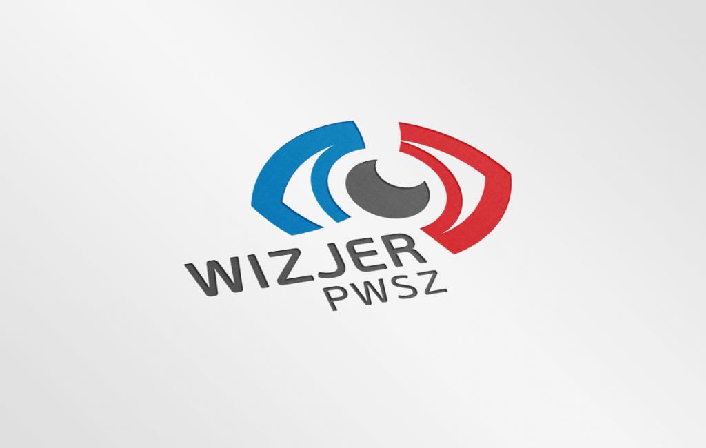 Logotyp Telewizji Akademickiej WIZJER PWSZ