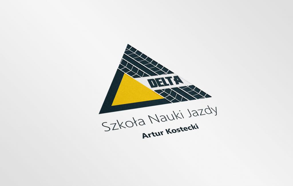 Logotyp Szkoły Nauki Jazdy Delta