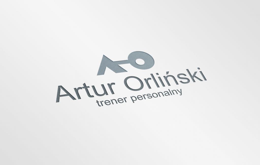 Propozycja logotypu dla trenera personalnego