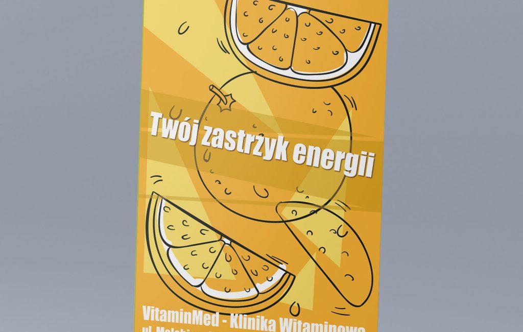 Propozycje roll up'ów dla Vitamin med Klinika Witaminowa