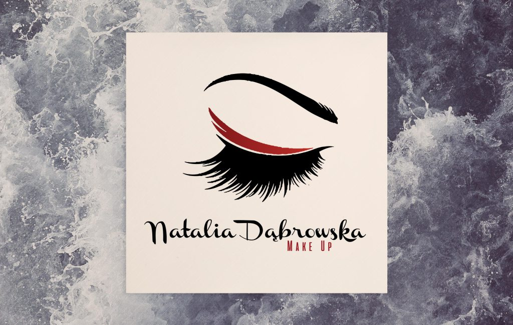 Logotyp Natalia Dąbrowska make up
