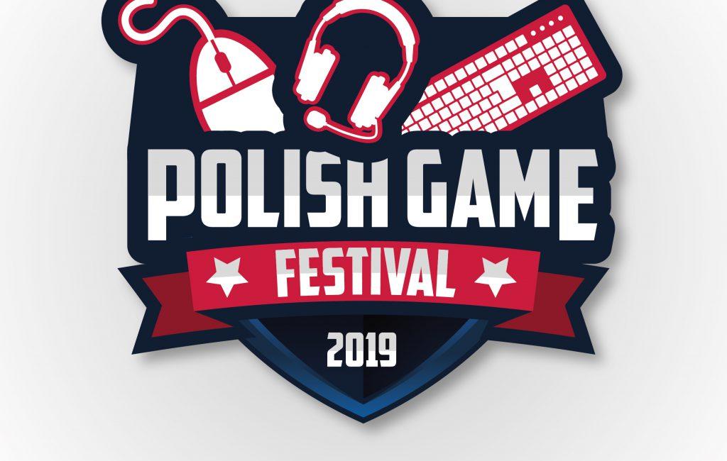 Logotyp dla eSportowego wydarzenia Polish Game Festival