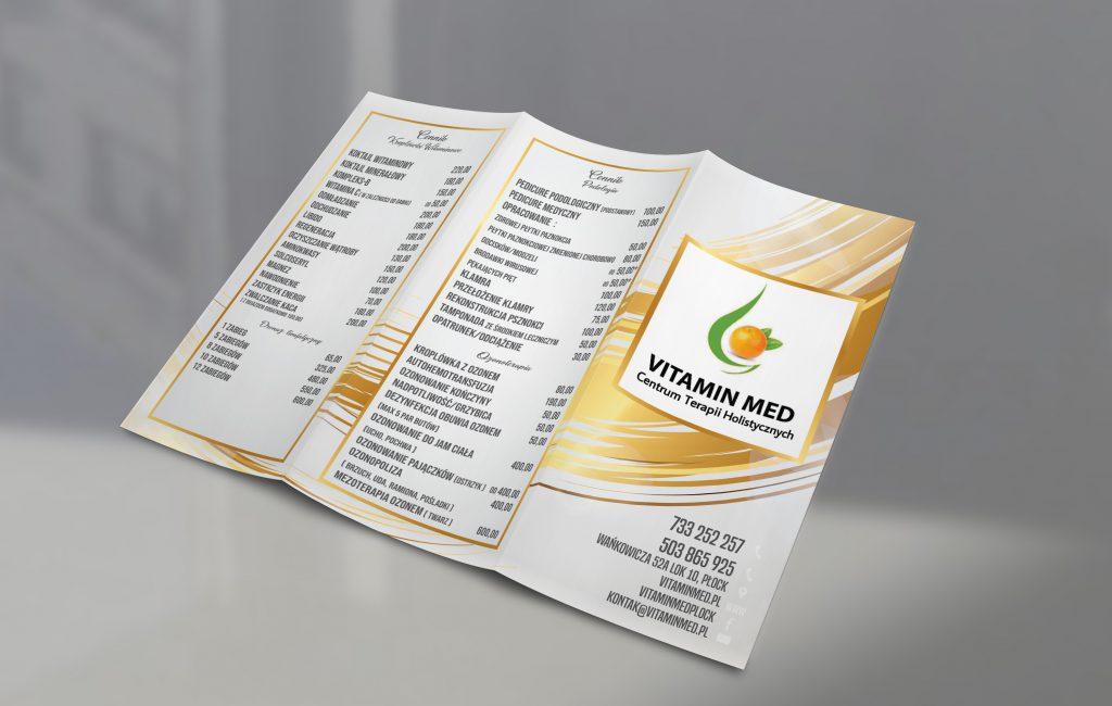 "Materiały reklamowe ""Vitamin Med"""