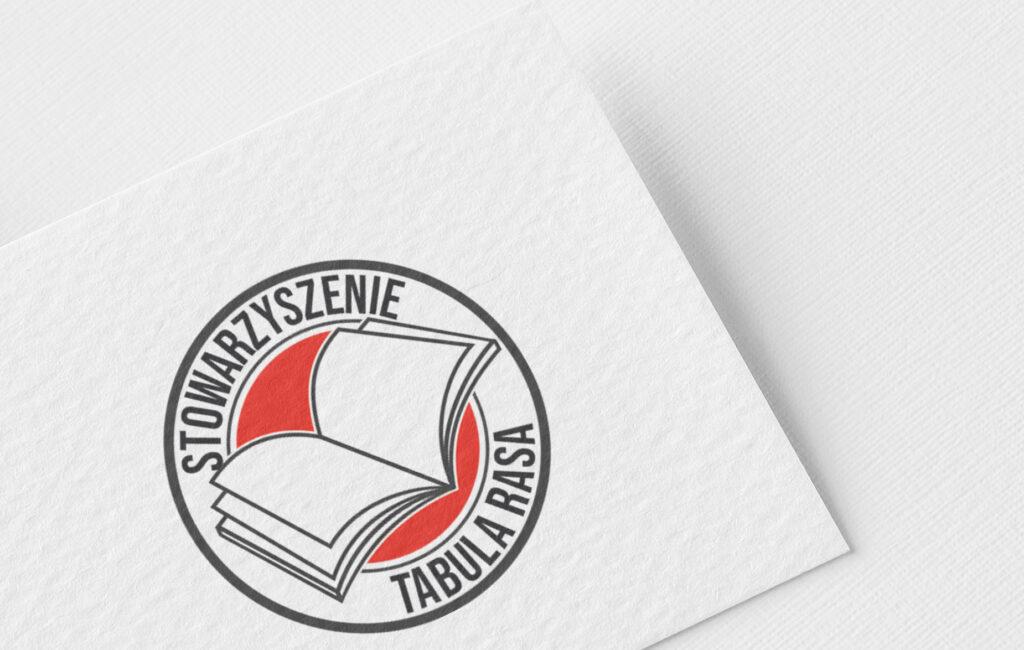 """logotyp stowarzyszenie """"tabula rasa"""""""