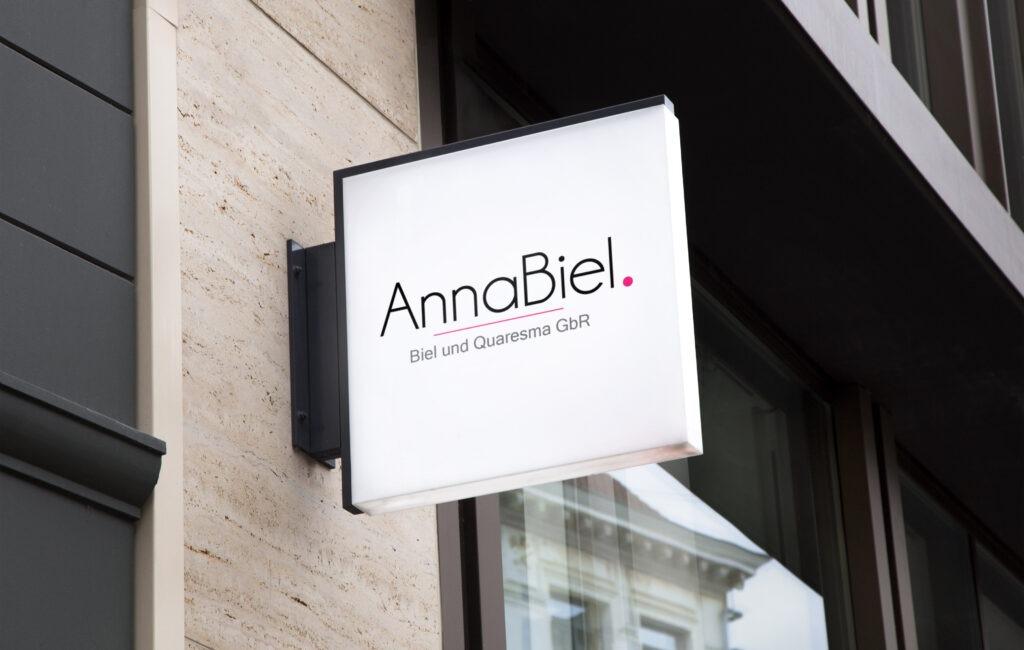 Projekt logotypu Anna Biel