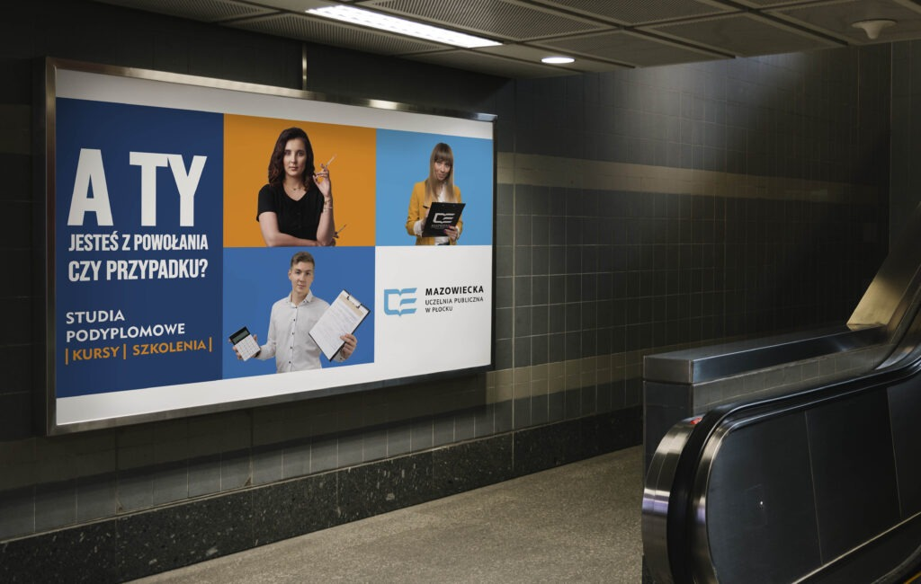 Kampania reklamowa uczelni wyższej